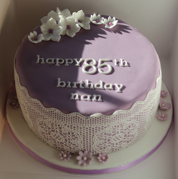 85Th Birthday Cakes