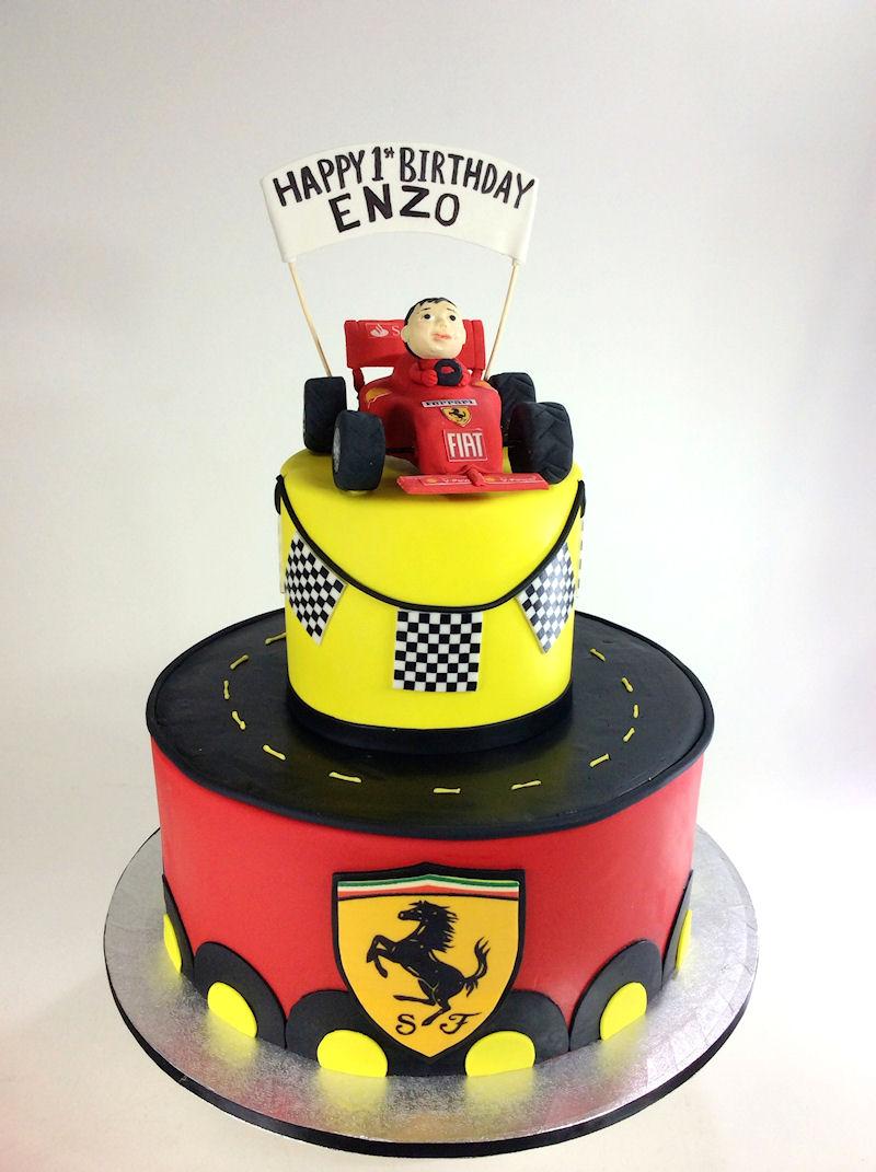 Ferrari Birthday Cakes