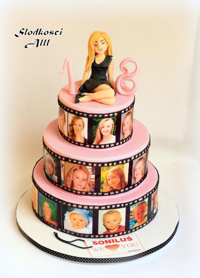 Eighteen Birthday Cakes
