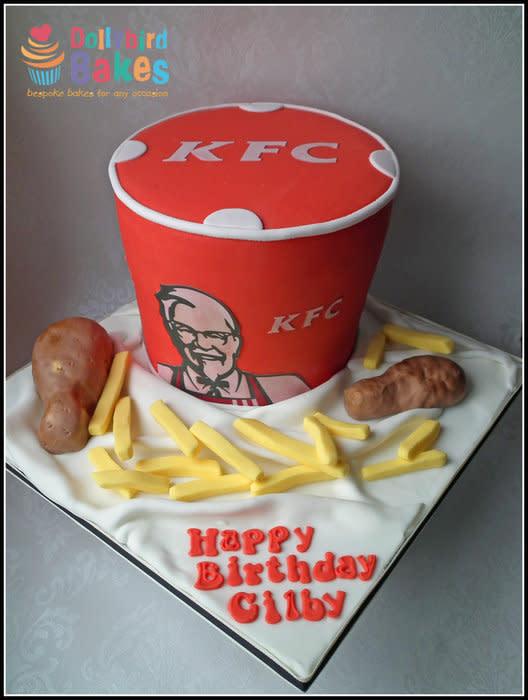 Kfc Birthday Cakes