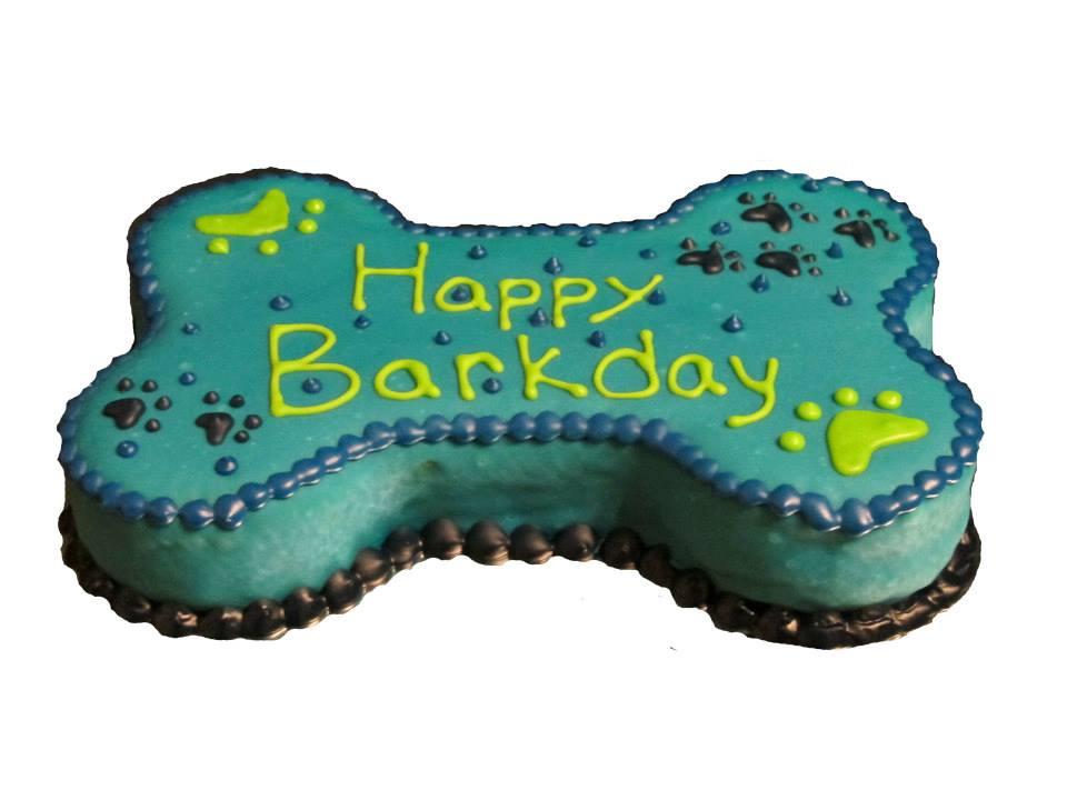 Bone Birthday Cakes
