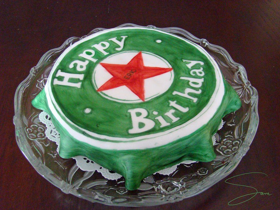 Heineken Birthday Cakes