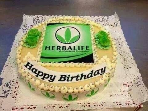 Herbalife Birthday Cakes