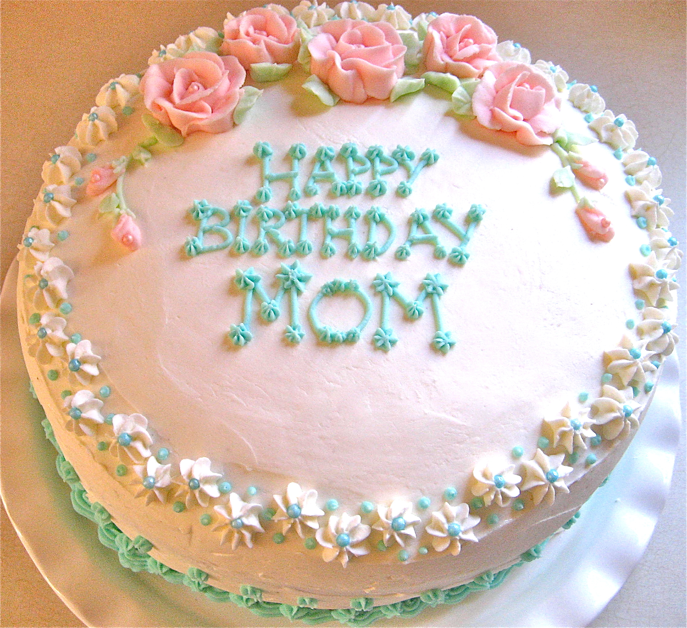 Cake Mom Birthday For Quotes