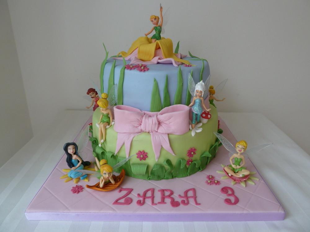 Tinkerbell Wedding Cake Topper