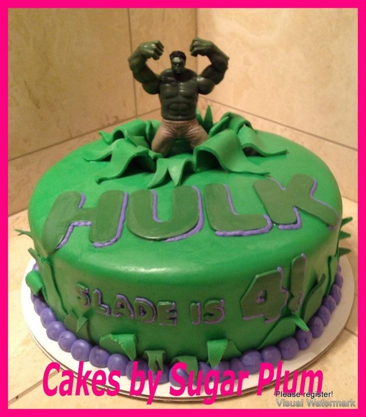 Hulk birthday cakes maxwellsz