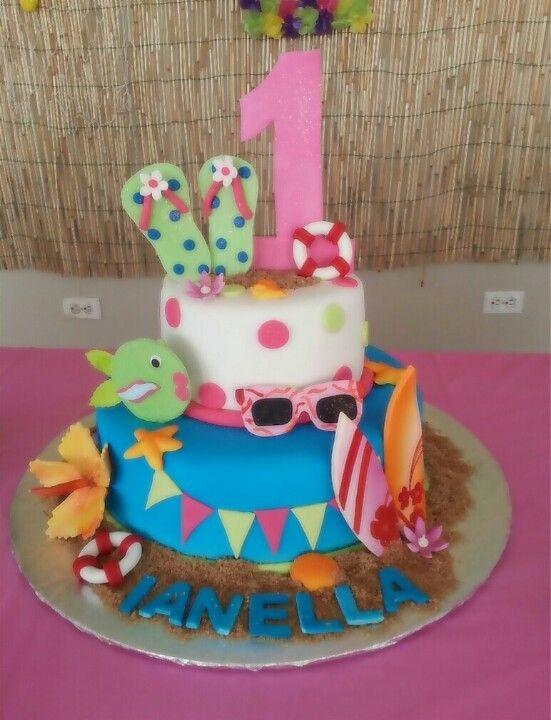 Hawaii Birthday Cakes