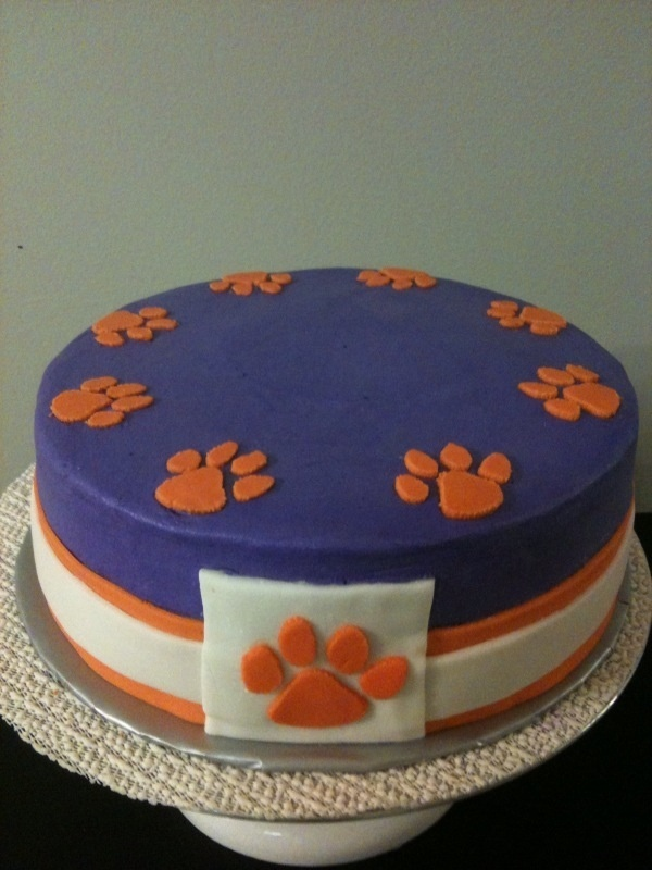 Clemson Birthday Cakes
