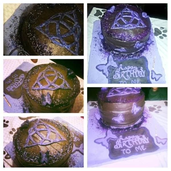 Charmed Birthday Cakes
