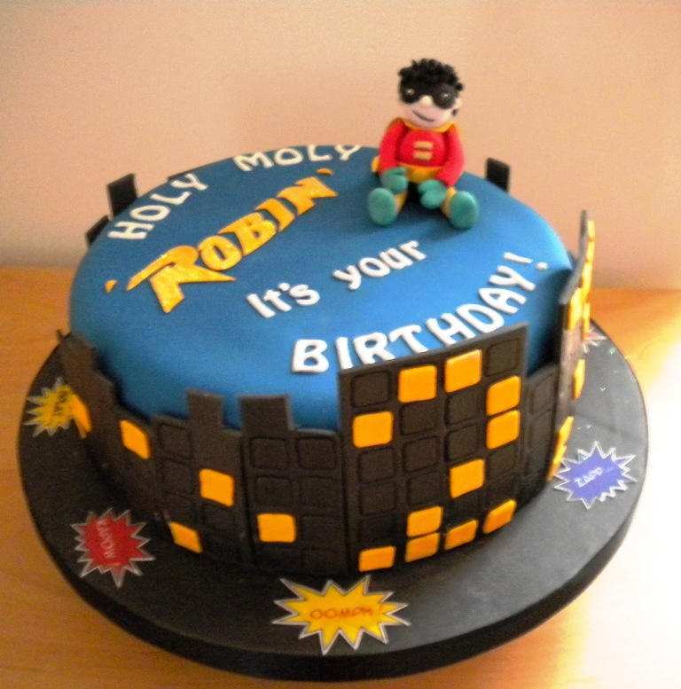 Robin Birthday Cakes