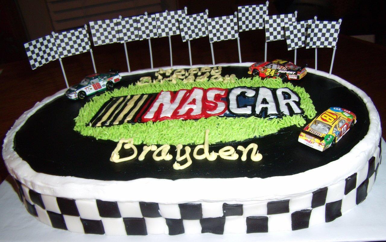 Nascar Birthday Cakes