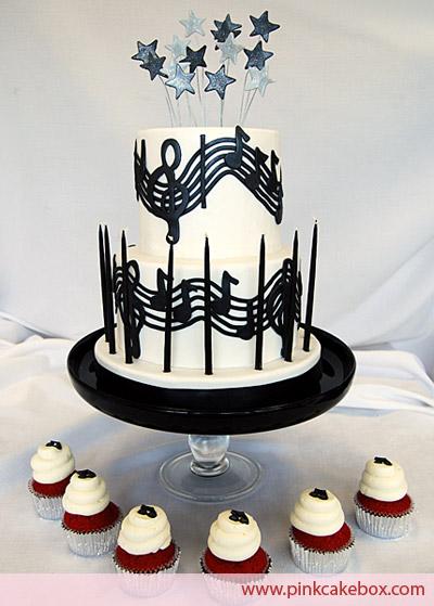Music Birthday Cakes