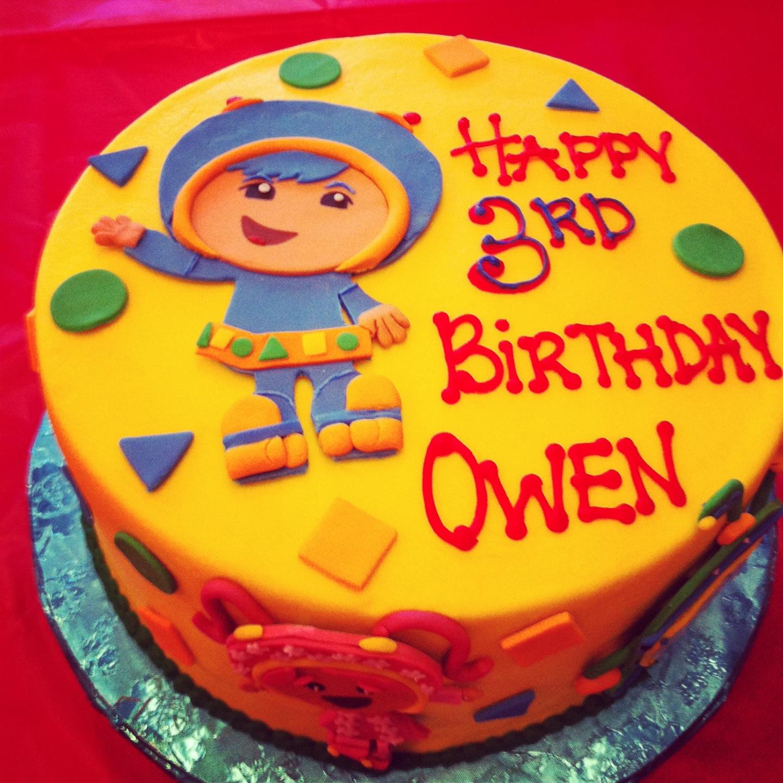 Team Umizoomi Birthday Cake For My Boys Pinterest