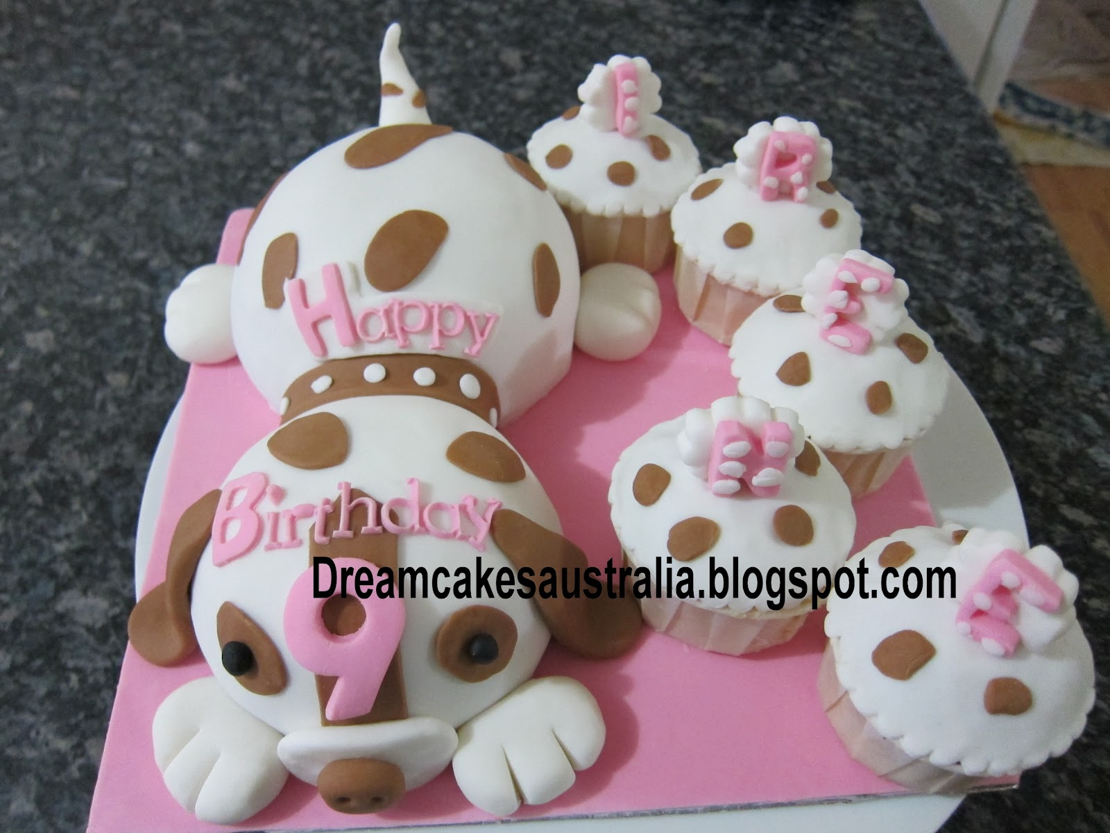 Dream Cakes Australia Puppy Dog Themed Cake