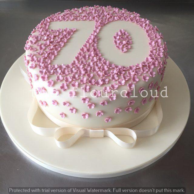 The 25 Best 70th Birthday Cake Ideas On Pinterest