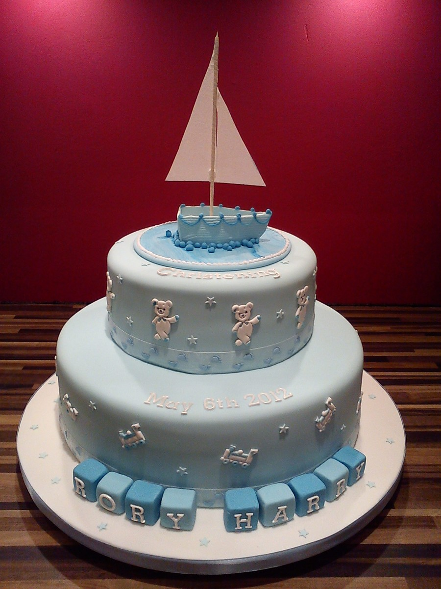 Boat Birthday Cakes
