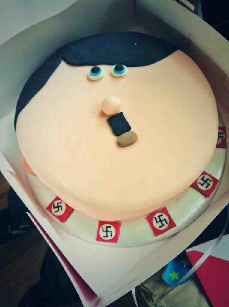 Image result for Hitler birthday cake
