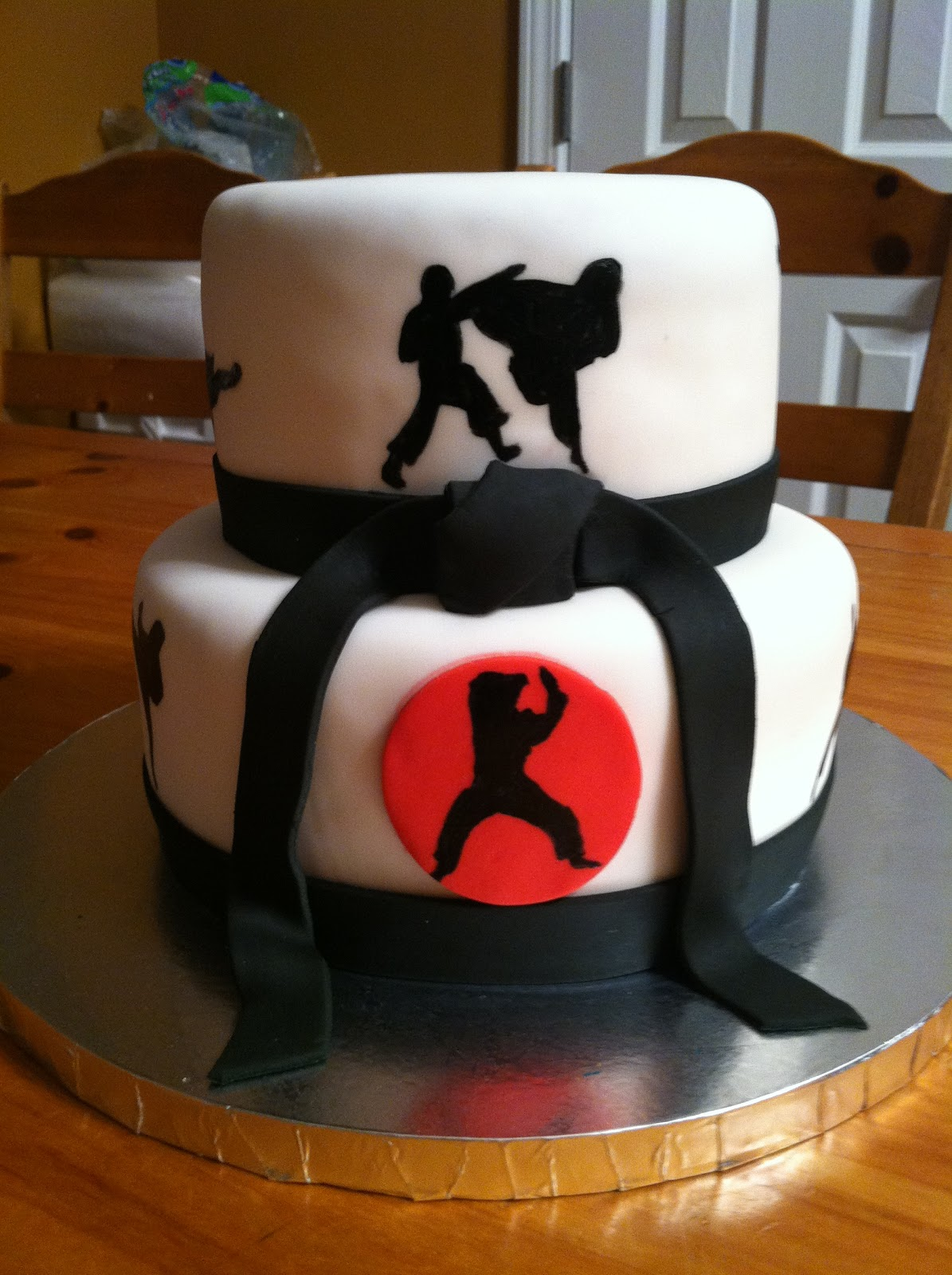 Karate Birthday Cakes