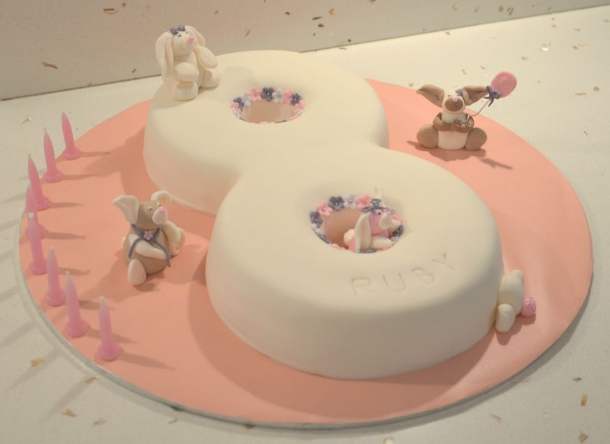 Number 8 Birthday Cake Ideas And Designs