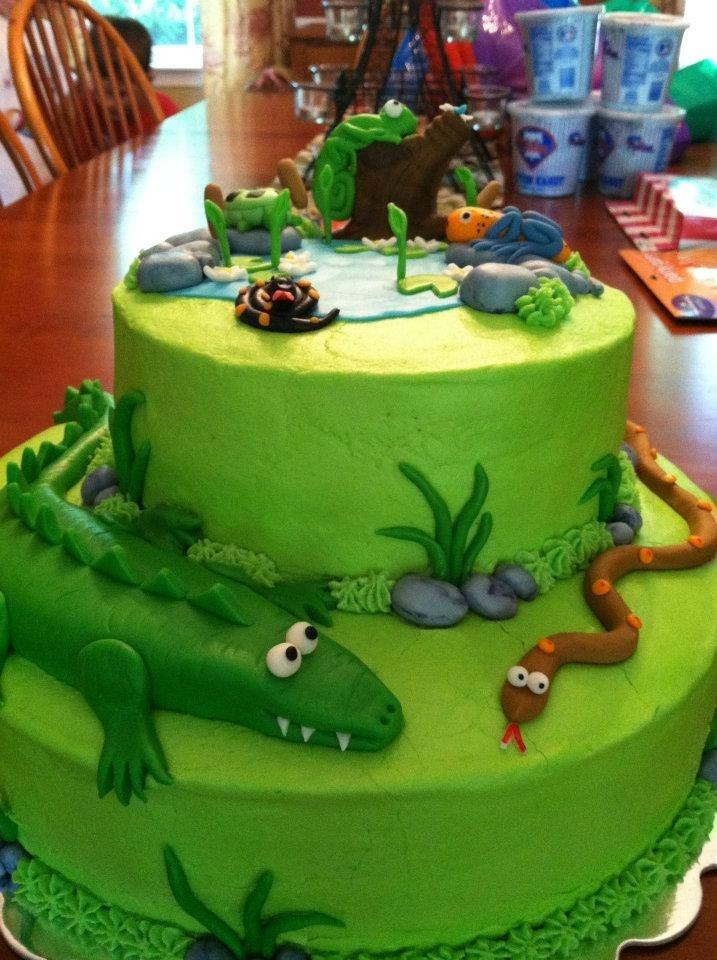 Reptile Birthday Cakes