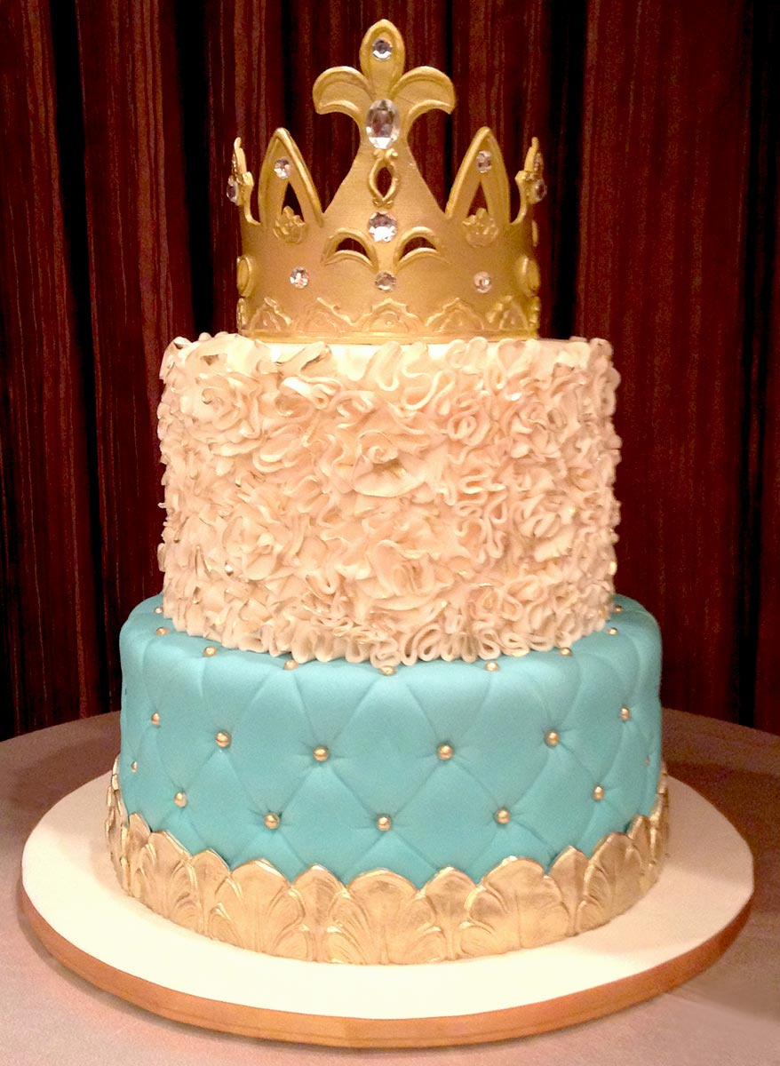 Crown Birthday Cakes