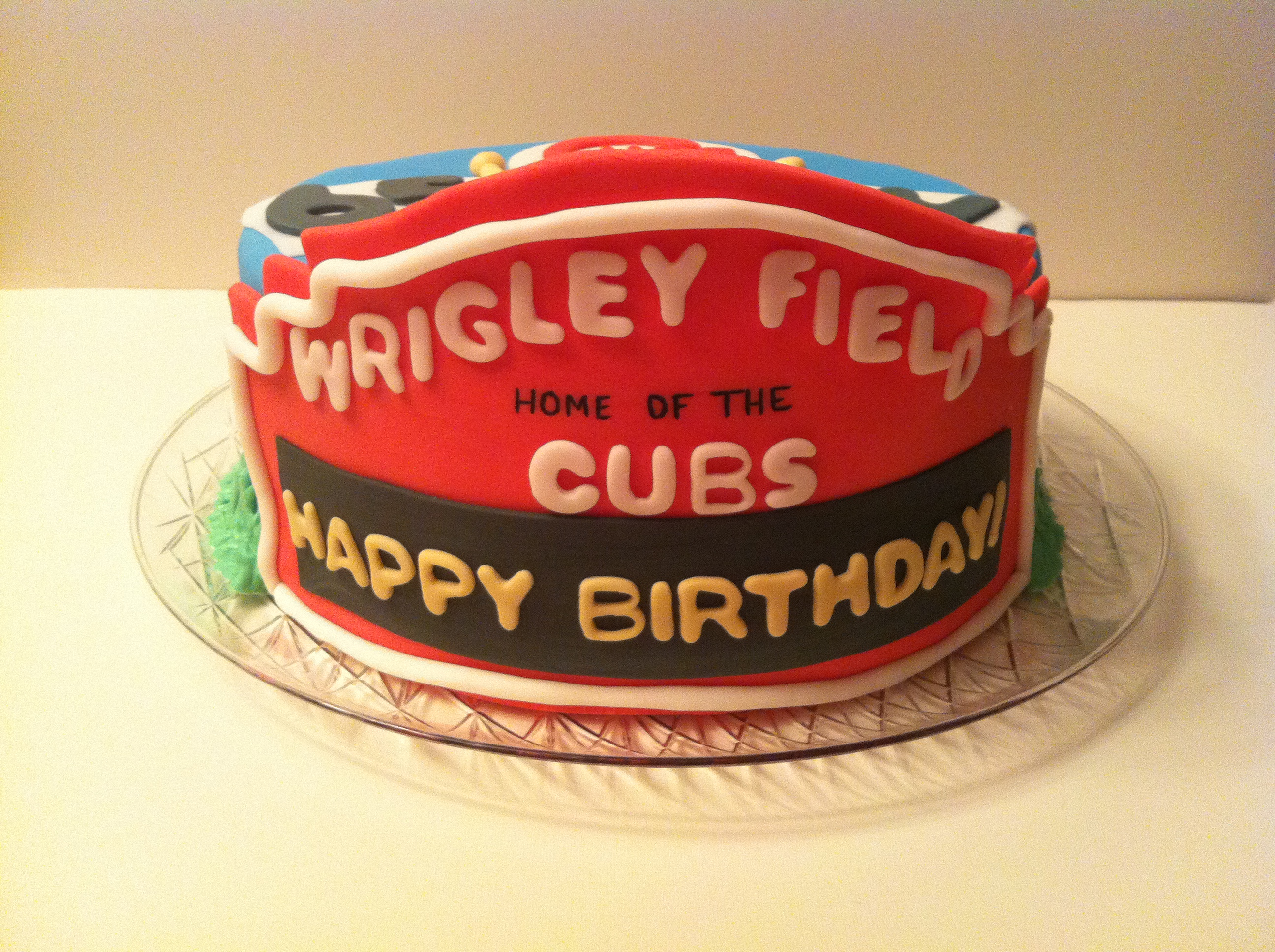 Cubs Birthday Cakes