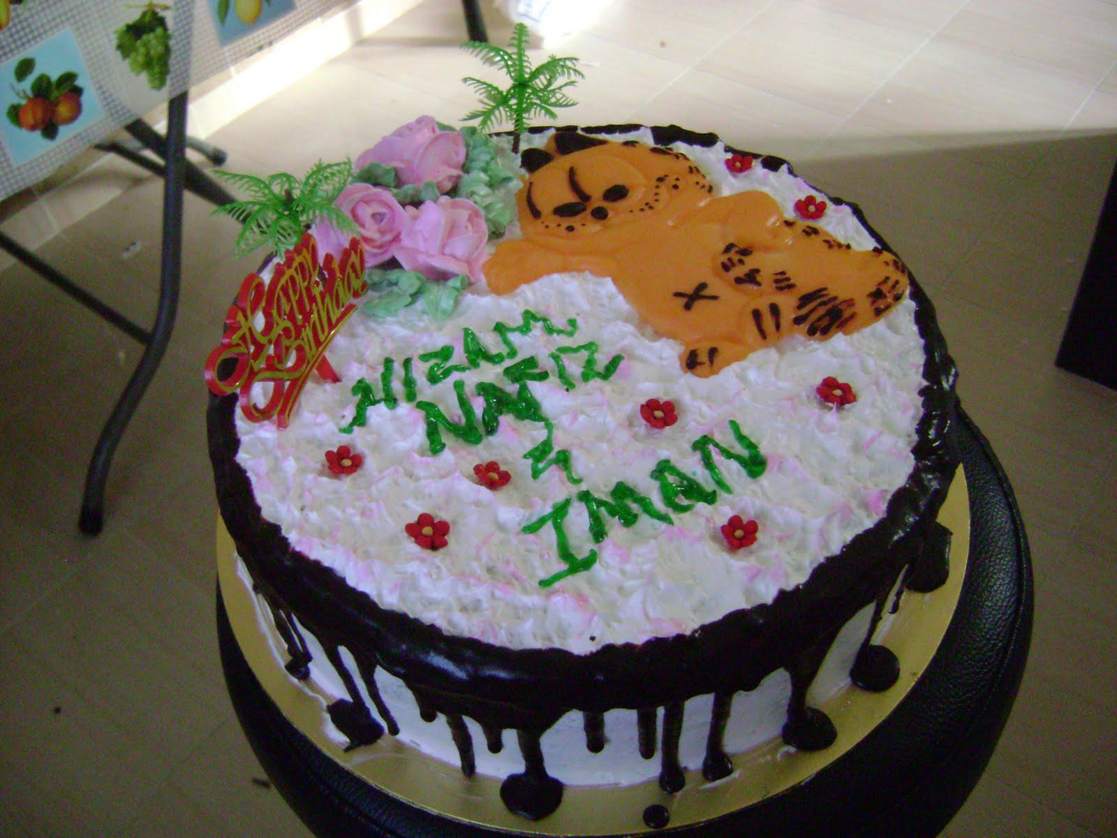 Resepi Birthday Cakes