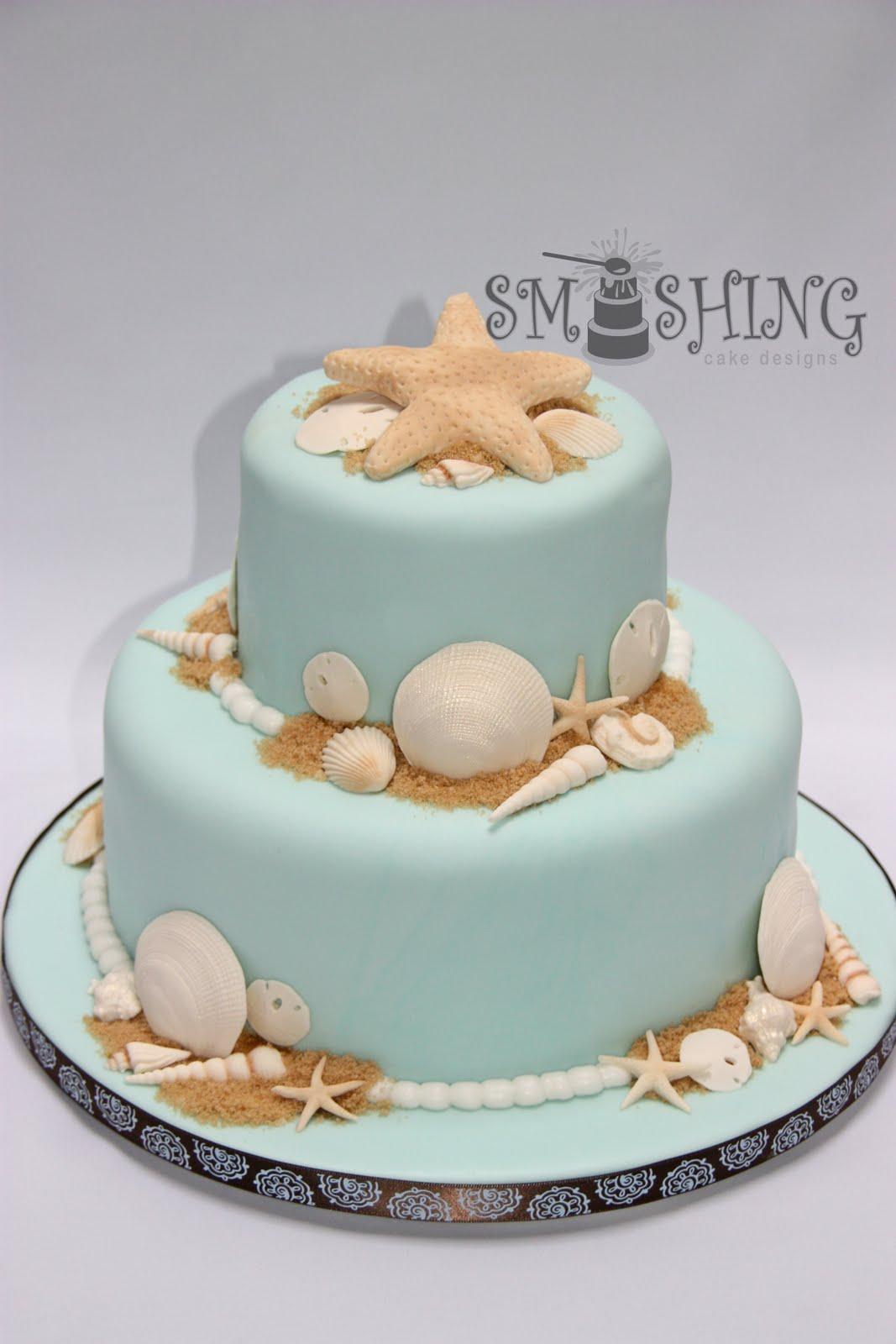 Beach Birthday Cakes
