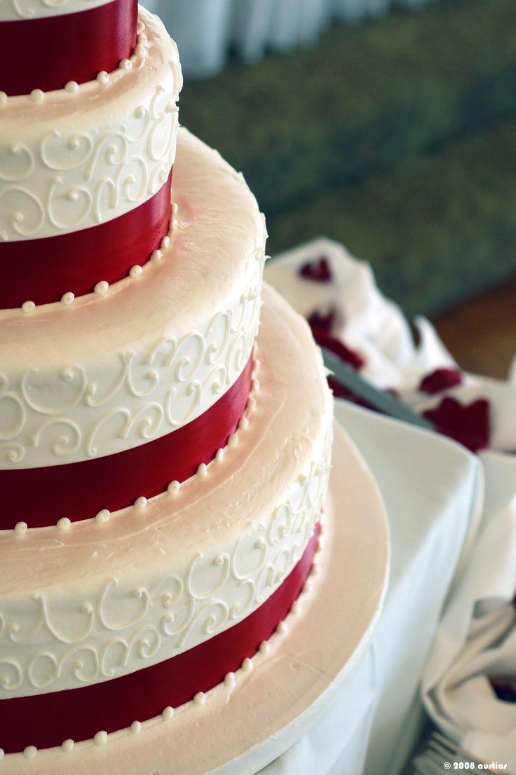 Velvet Wedding Cakes