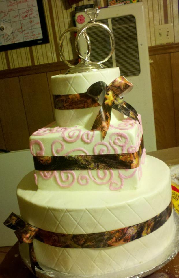 Deer Wedding Cakes