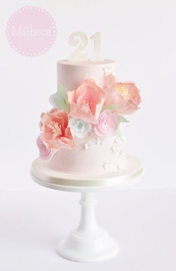 Pastel Birthday Cakes