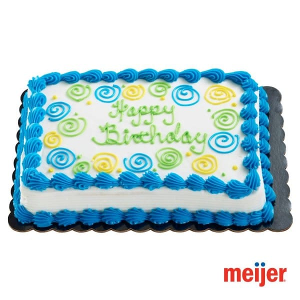 Meijer Birthday Cakes