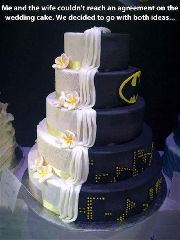 Funny wedding cakes funny wedding cakes dump a day junglespirit Images