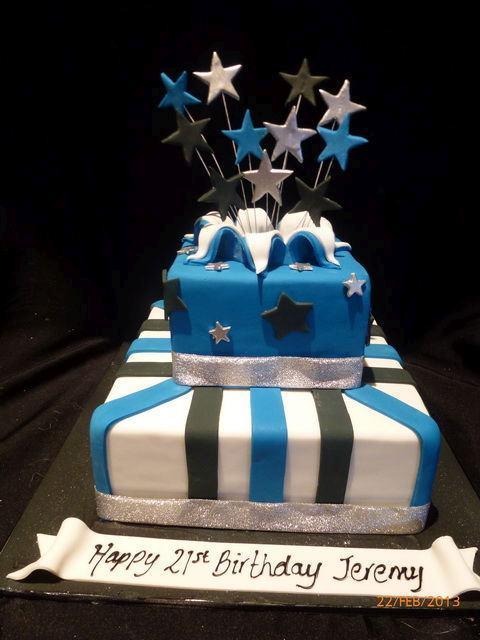 21 Birthday Cakes Male A Cake
