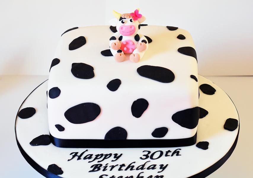 Cow Birthday Cakes