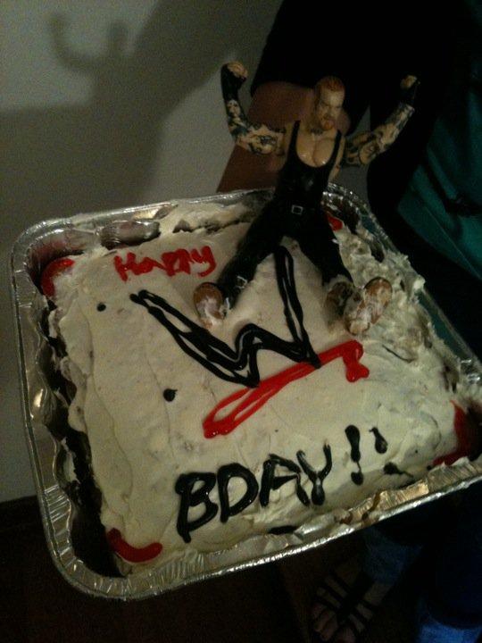 Undertaker Birthday Cakes