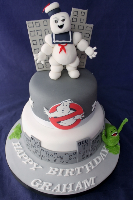 Ghostbusters Birthday Cakes