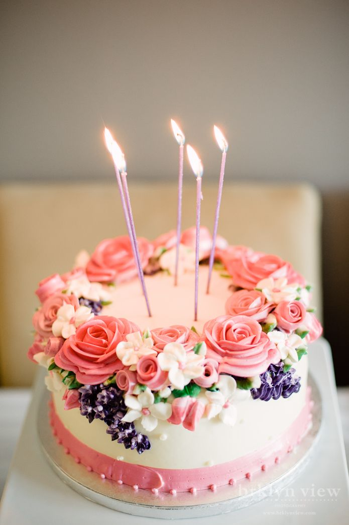 Beautiful Floral Birthday Cakes