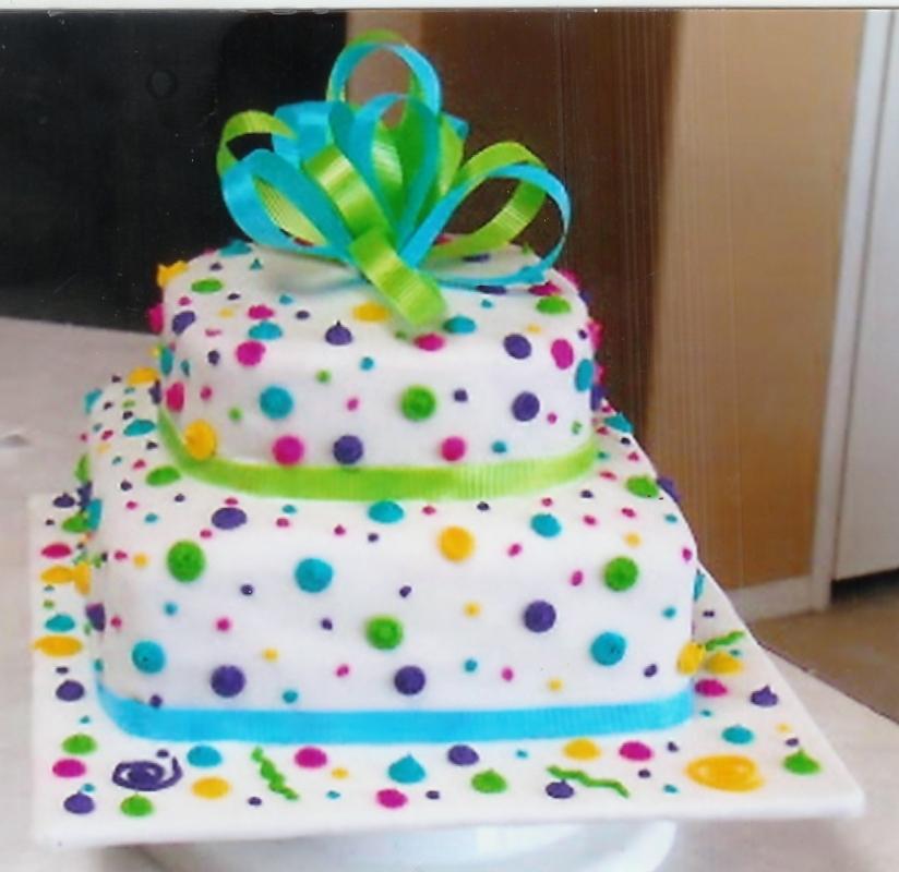 Decorated Birthday Cakes
