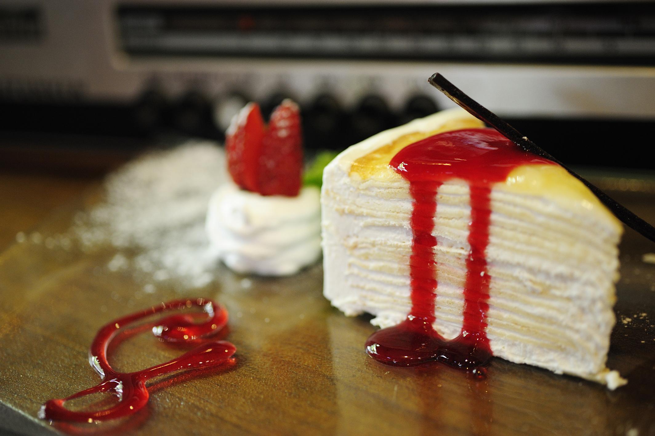 Crepe Birthday Cakes