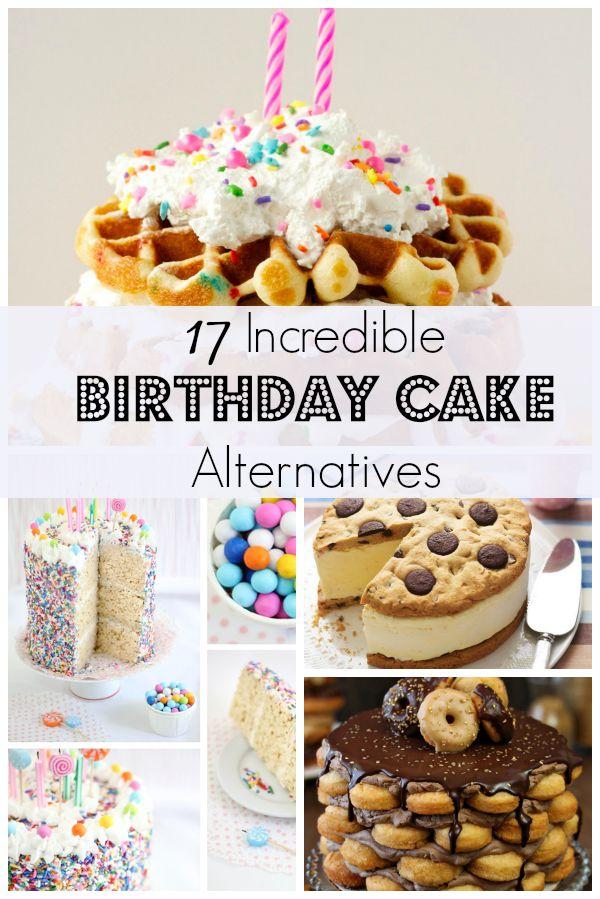 Alternative Birthday Cakes