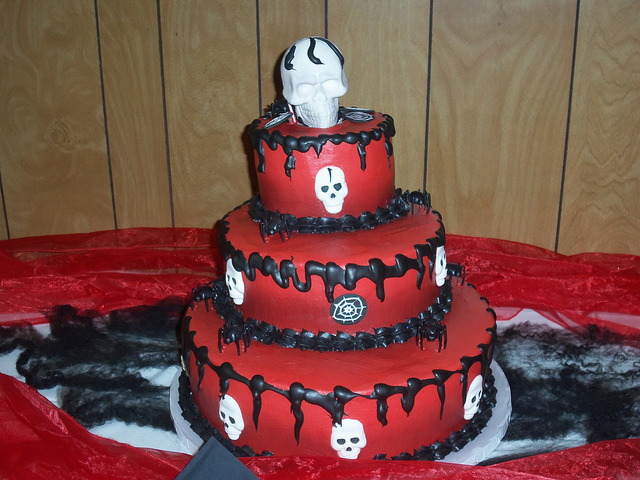 Spooky Birthday Cakes