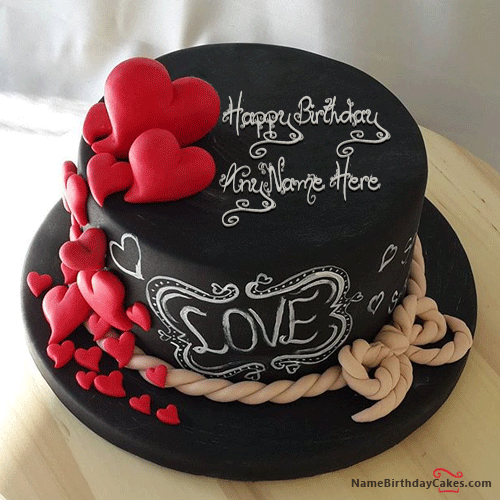 Happy Birthday Cakes For Lover With Name 3