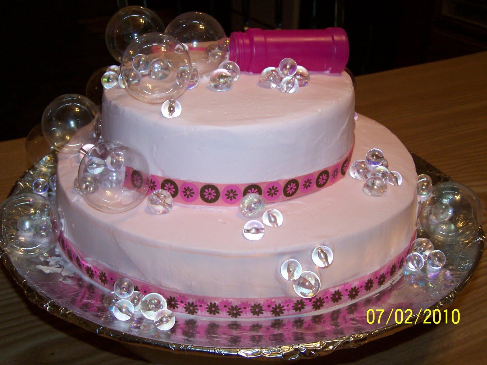 Bubble Birthday Cakes