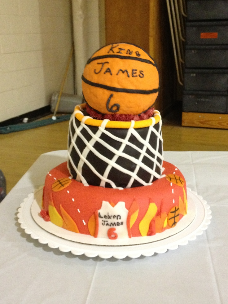 217804d5a41 Lebron Birthday Cakes
