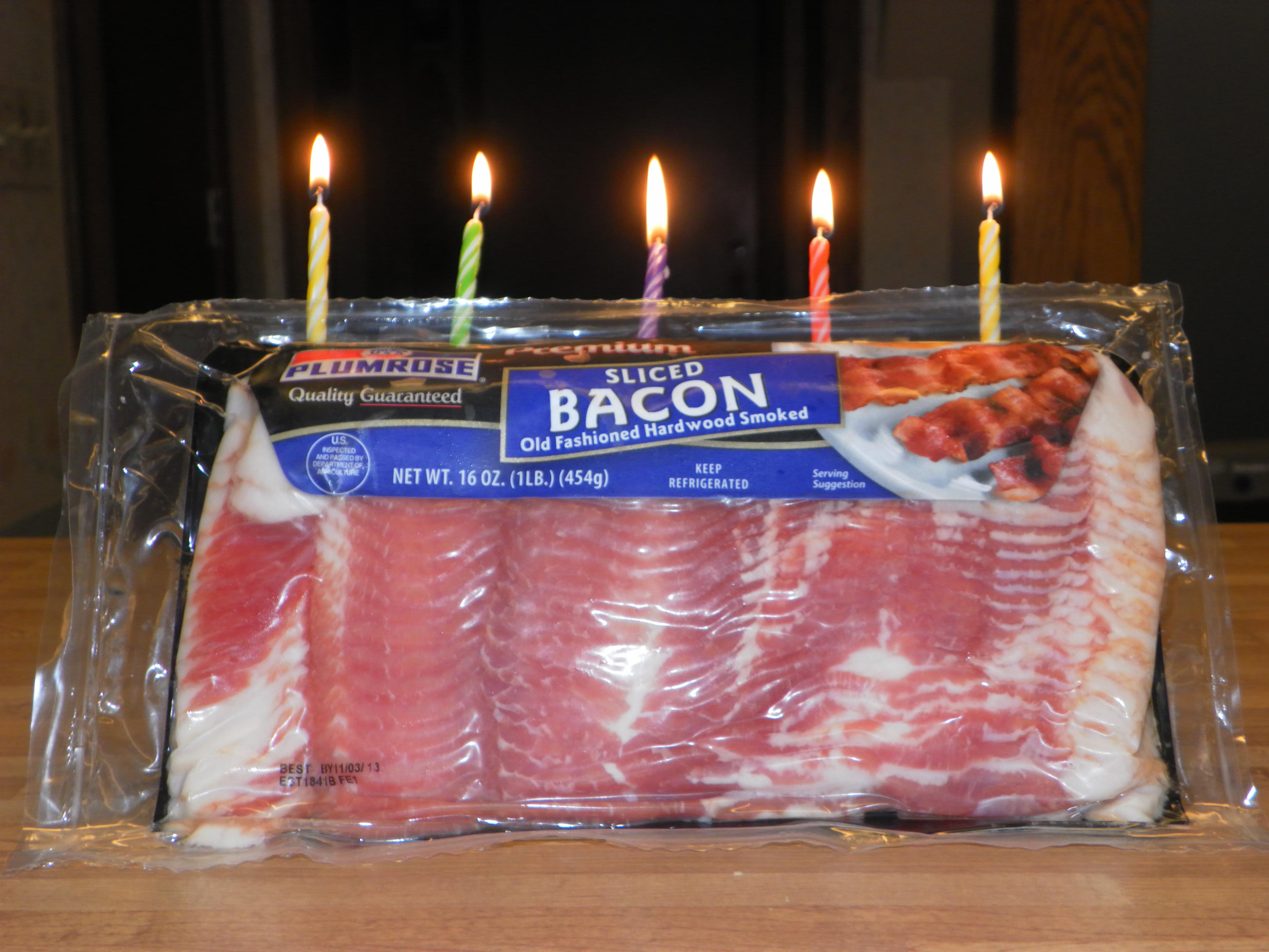 bacon birthday cake Bacon Birthday Cakes bacon birthday cake