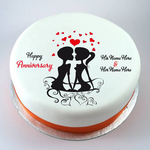 Marriage Anniversary Wedding Anniversary Cake Design