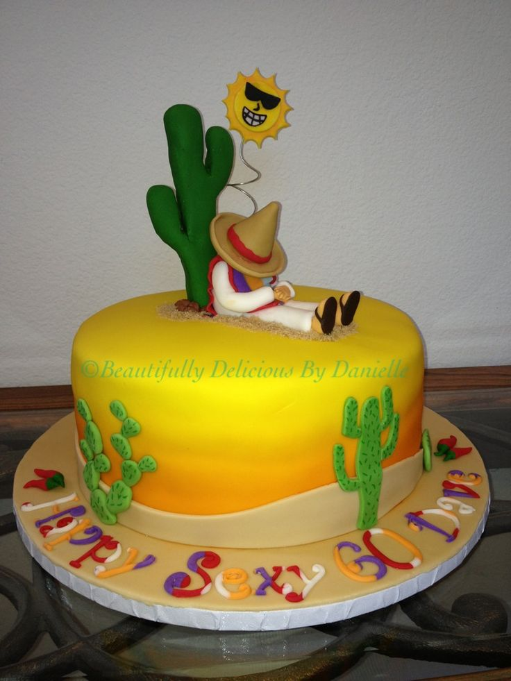 Mexican Birthday Cakes