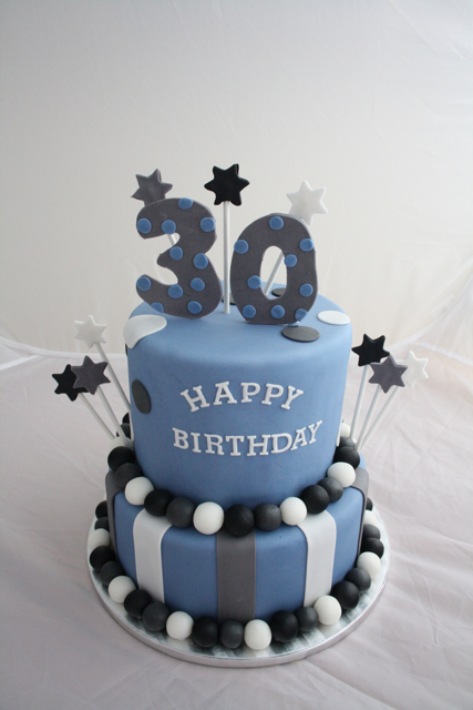 30Th Birthday Cakes