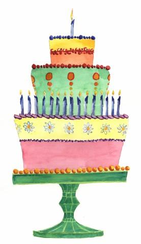 Southern Birthday Cakes